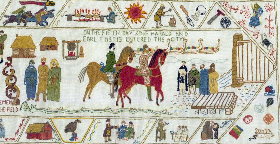 Fulford Tapestry panel 6